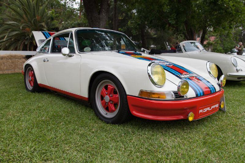 Dan Reese's 1970 Porsche 911T.