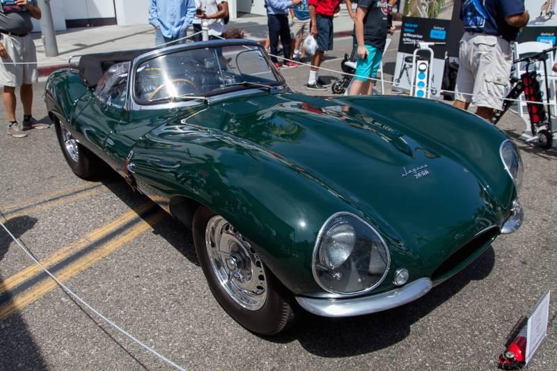 1956 Jaguar XKSS - formerly owned by Steve McQueen.