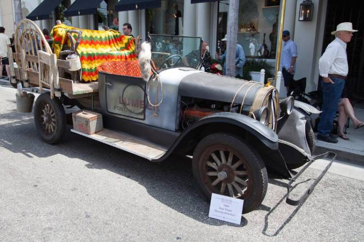 1924 Reo Truck from the 1960's TV show, The Beverly Hillbillies.