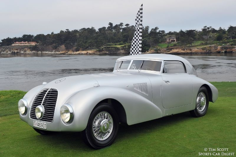 Pebble beach concours d 39 elegance 2014 photos winners for Mercedes benz of reno staff