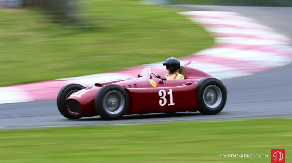 Lancia D50A at Circuit Mont-Tremblant in Canada (photo: David Ferguson)