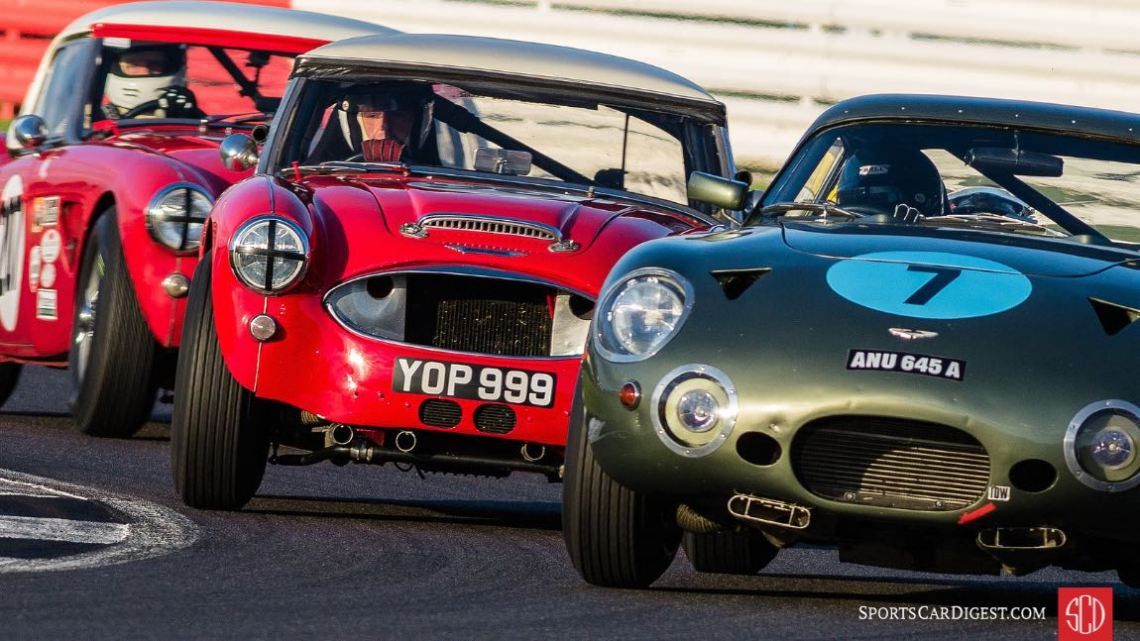 Tight formation at the Silverstone Classic (photo: Matt White)