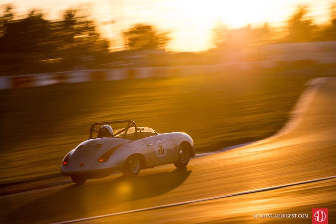 Porsche 356 Speedster at the Oldtimer Grand Prix (photo: Julien Mahiels)