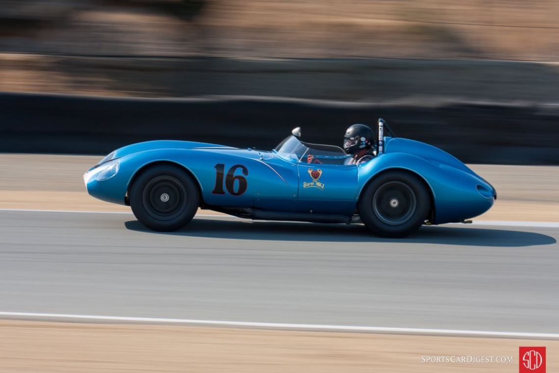 Scarab Mk I left its mark on the Monterey Motorsports Reunion (photo: Victor Varela)