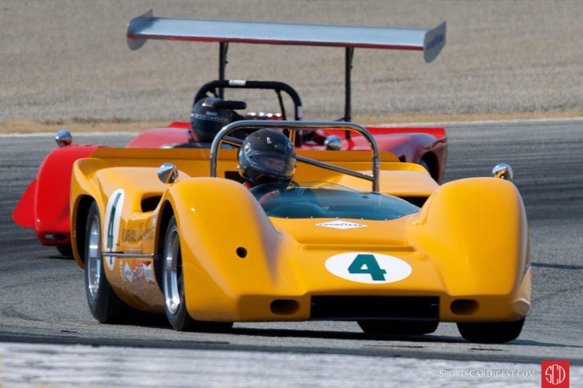 McLaren M6A at the Monterey Motorsports Reunion (photo: Dennis Gray)