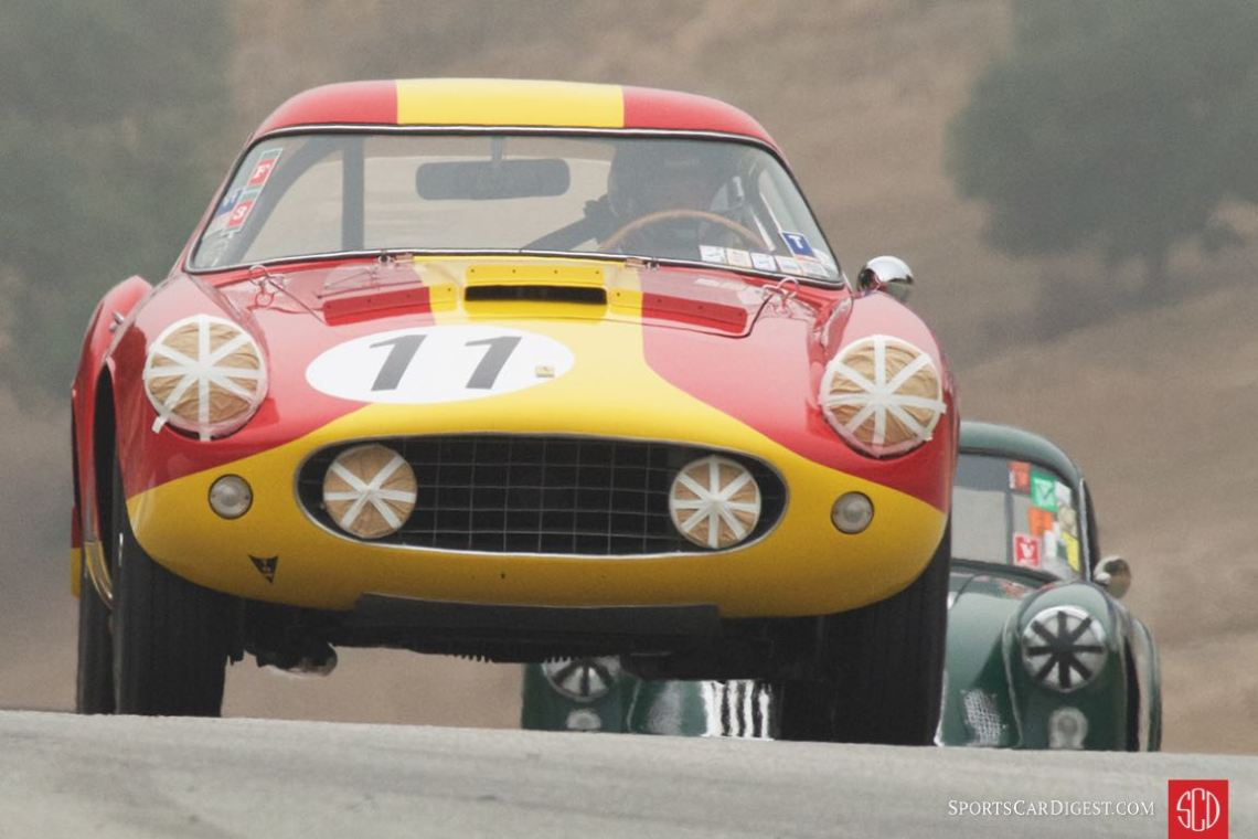 Ferrari 250 GT LWB Berlinetta 'Tour de France' at the Monterey Motorsports Reunion (photo: Dennis Gray)