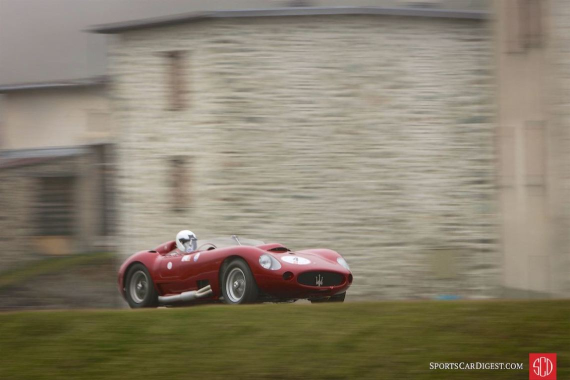 Maserati 450S at the Bernina Gran Turismo (photo: Alberto Novelli)