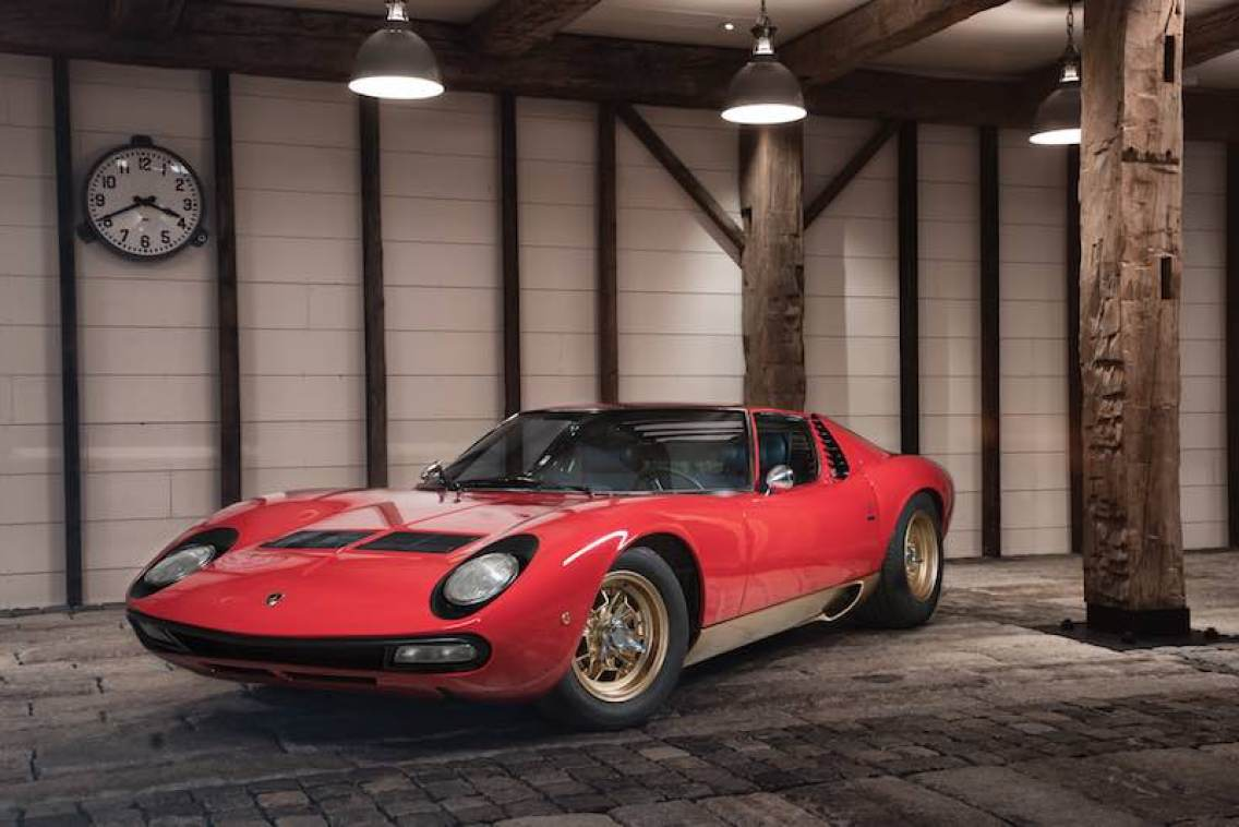 1971 Lamborghini Miura P400 SV (photo: Erik Fuller)