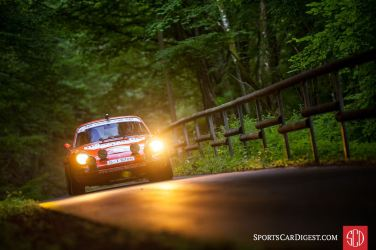 Another Eifel Rallye Festival Participant - 1970 Porsche 911S that won the Monte Carlo Rally at the hands of Bjorn Waldegard (photo: Julien Mahiels)