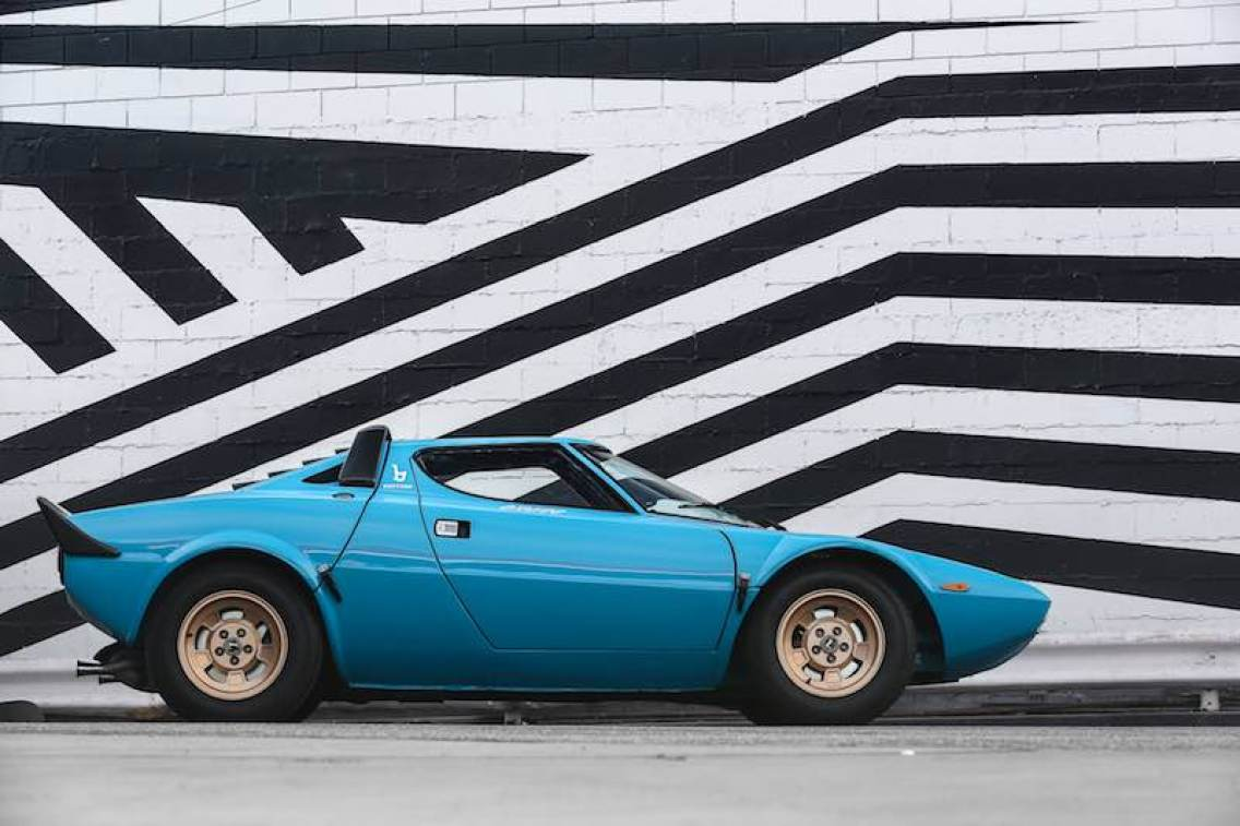 1975 Lancia Stratos HF Stradale (photo: Mathieu Heurtault)