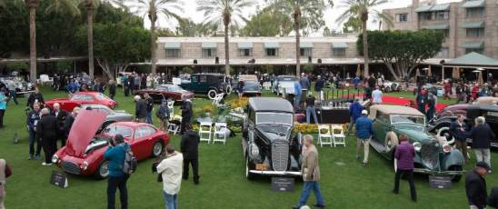 Part of the Arizona Concours scene at the Arizona Biltmore Resort - Ken Bryant