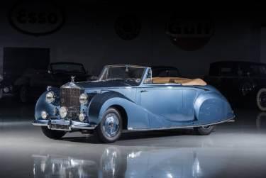 1948 Rolls-Royce Silver Wraith Cabriolet by Franay (photo: Darin Schnabel)
