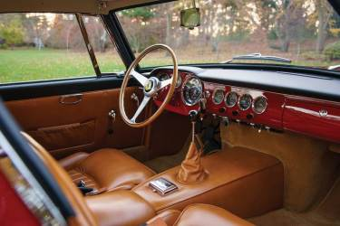 1961 Ferrari 250 GT SWB Berlinetta Interior (photo: Erik Fuller)