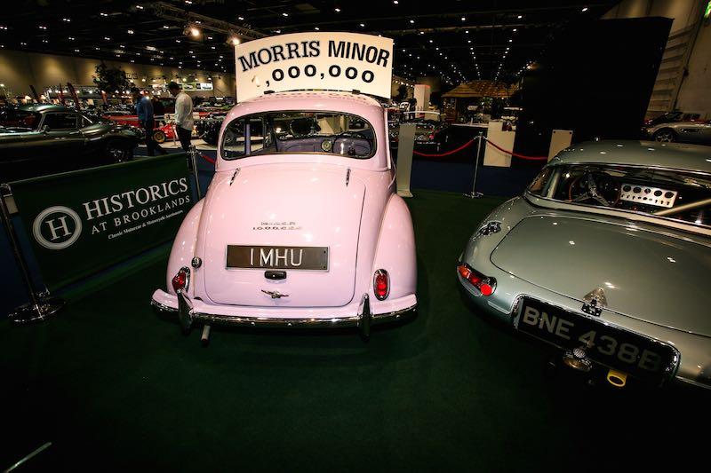 1,000,000 Morris Minor on show