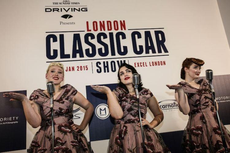 London Classic Car Show choir