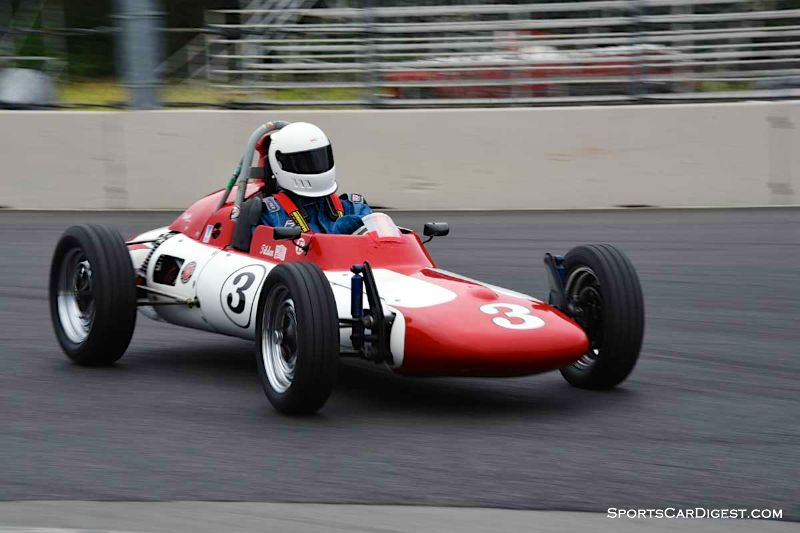 Dan Tilden's Zink V4 FV at Portland Historic Races 2015
