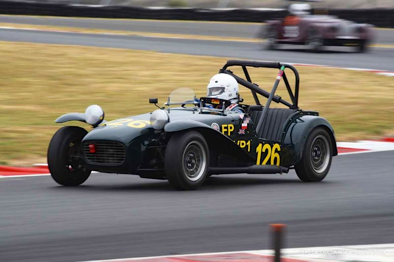 Thomas Styczynski's 1964 Lotus 7 during Portland Historic Races 2015