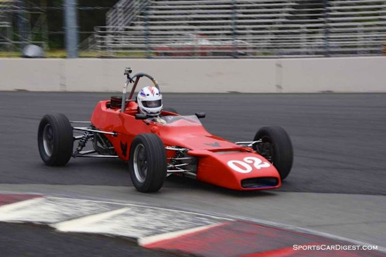 Chuck O Connor's 1970 Winkelmann WDF2 at Portland Historic Races 2015