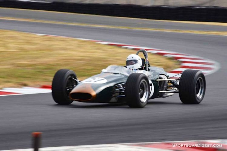 Dave Sweeney's 1965 Brabham BT-14 during  Portland Historic Races 2015