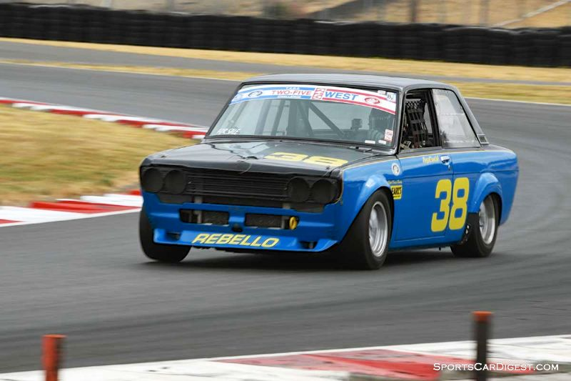 Troy Ermish's 1971 Datsun 510 at Portland Historic Races 2015