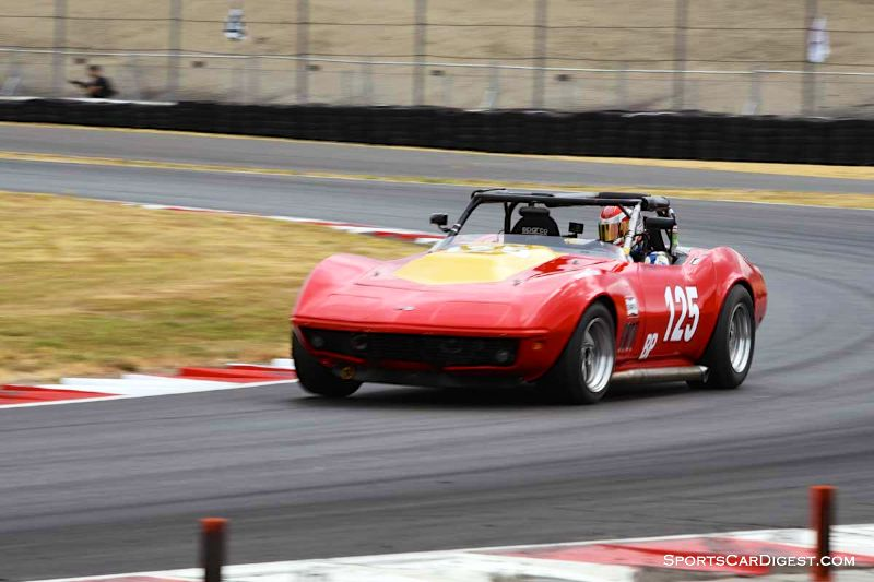 Matt Parent's 1969 Chevrolet Corvette at Portland Historic Races 2015