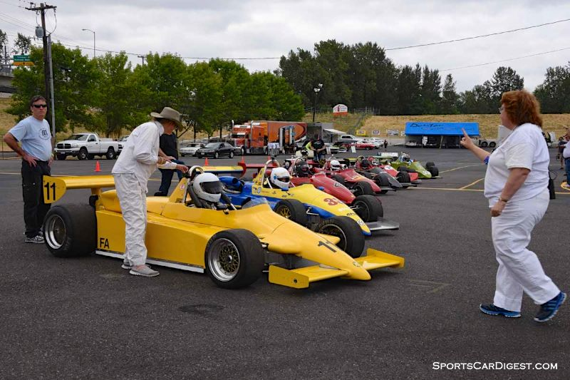 Group 9 at Portland Historic Races 2015