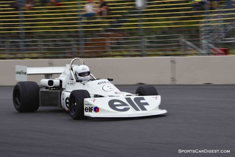 Mark Jaremko's 1975 March 75B at Portland Historic Races 2015