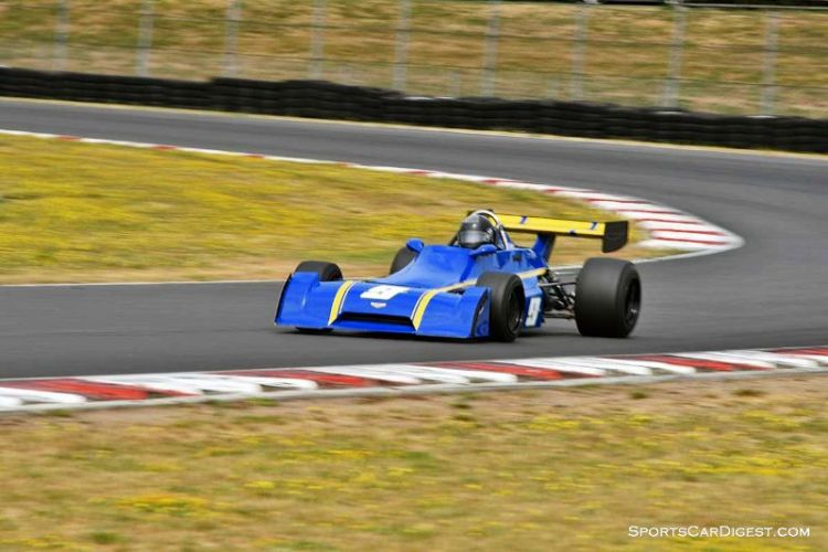 John Hill's 1975 Chevron B29 at Portland Historic Races 2015