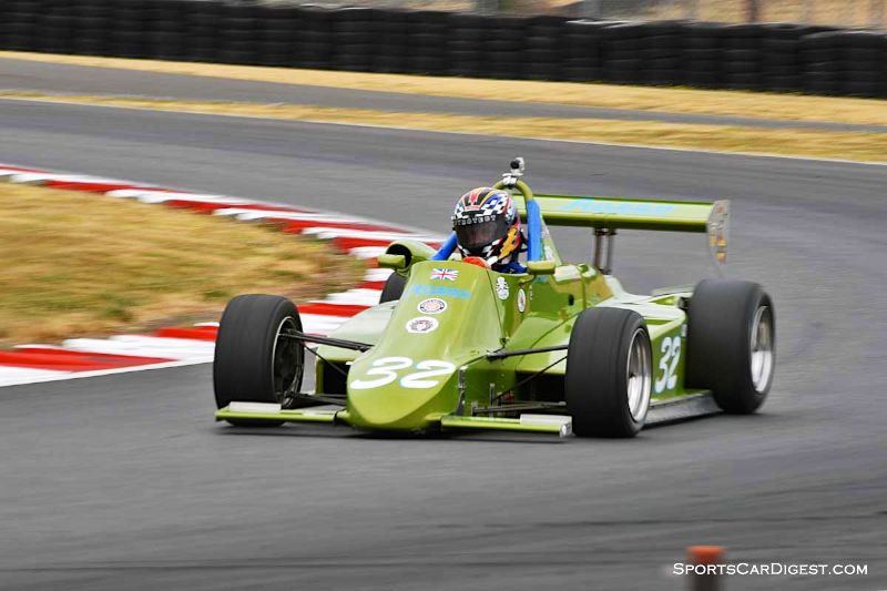Robert Dustan's 1984 Anson SA4 at Portland Historic Races 2015