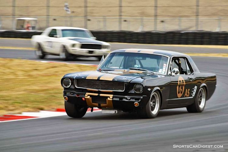 Gary Goeringer's 1966 Shelby GT 350 at Portland Historic Races 2015