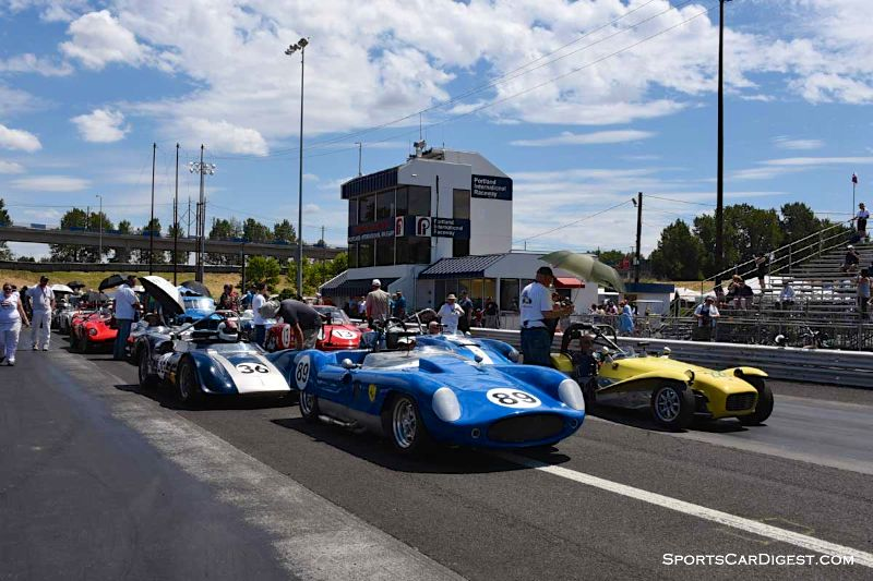 Groups 3 and 4 at Portland Historic Races 2015