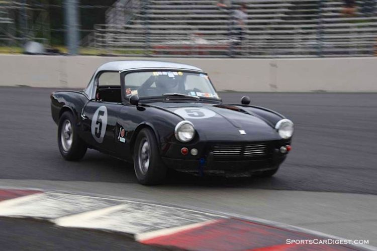 Stan Rinne's 1961 Triumph Spitfire at Portland Historic Races 2015