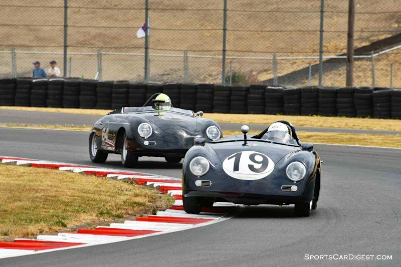 Ted Rodgers' 1962 Porsche 356B at Portland Historic Races 2015