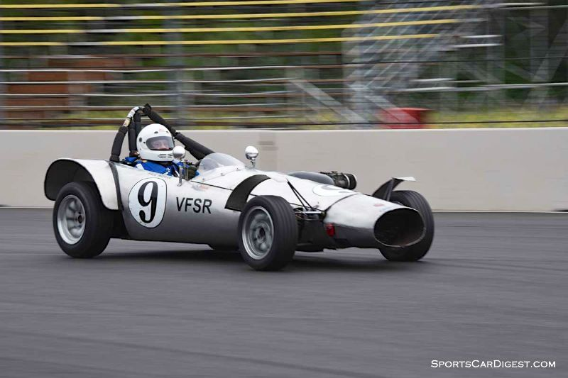 Paul Ingram's 1965 Ladybird MK VI at Portland Historic Races 2015