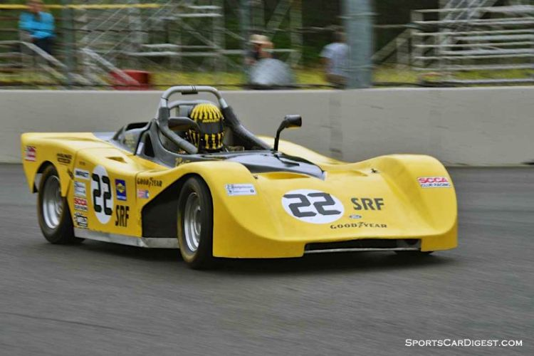 James Cotcher's 1998 Ford Spec Racer at Portland Historic Races 2015