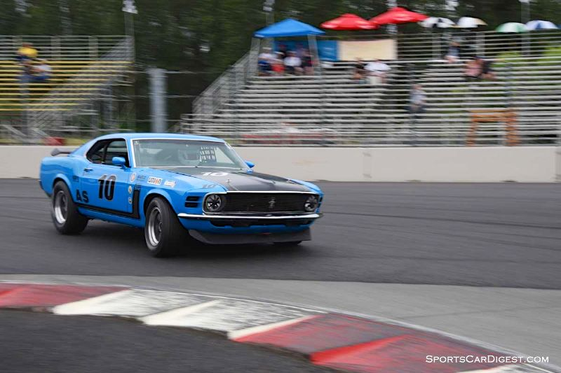 Mike Woolsey's 1970 Ford Mustang at Portland Historic Races 2015