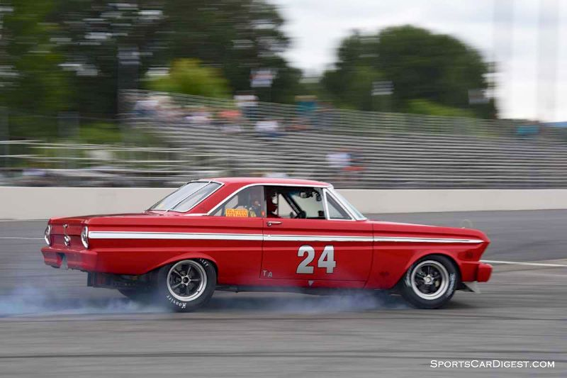Randy Dunphy's 1965 Ford Falcon at Portland Historic Races 2015