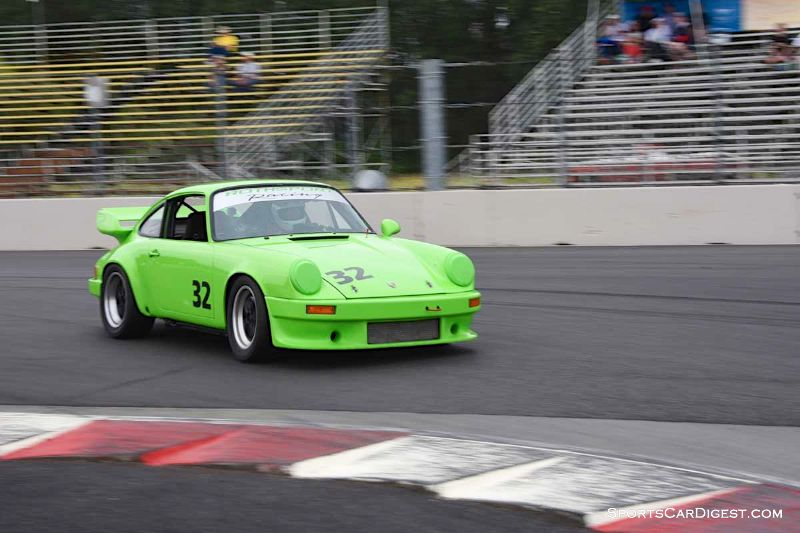 Dean Myers' 1978 Porsche 911 at Portland Historic Races 2015