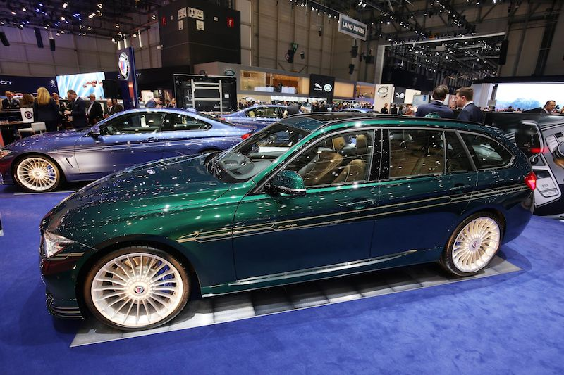 Alpina display at Geneva Motor Show 2016