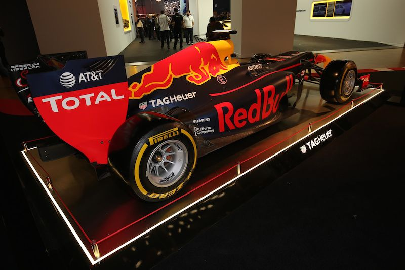 Red Bull Formula 1 display