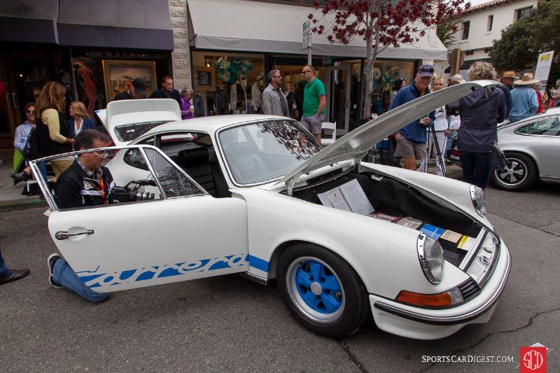 Rick Jeffrey - 1973 Porsche 911 Carrera RS