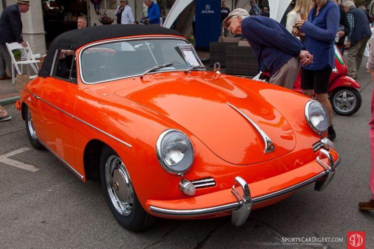 Chris Carbon & Tim Linggerfelt - 1965 Porsche 356 C Cabriolet