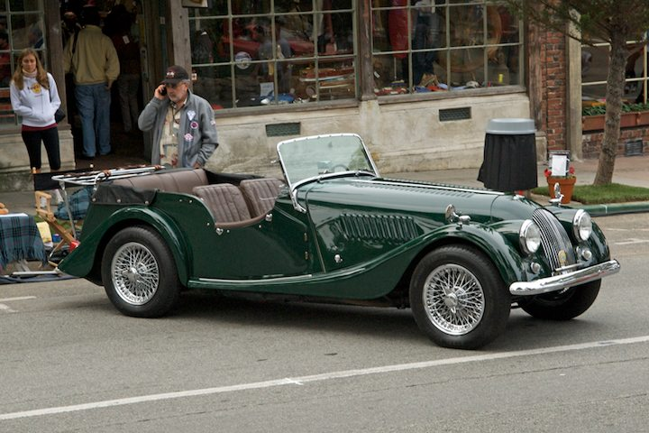 1962 Morgan +4 4seater DHC