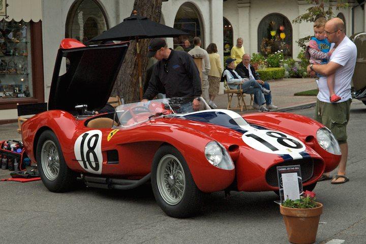 Best of Show - Jon Shirley's 1957 Ferrari 250 Testa Rossa