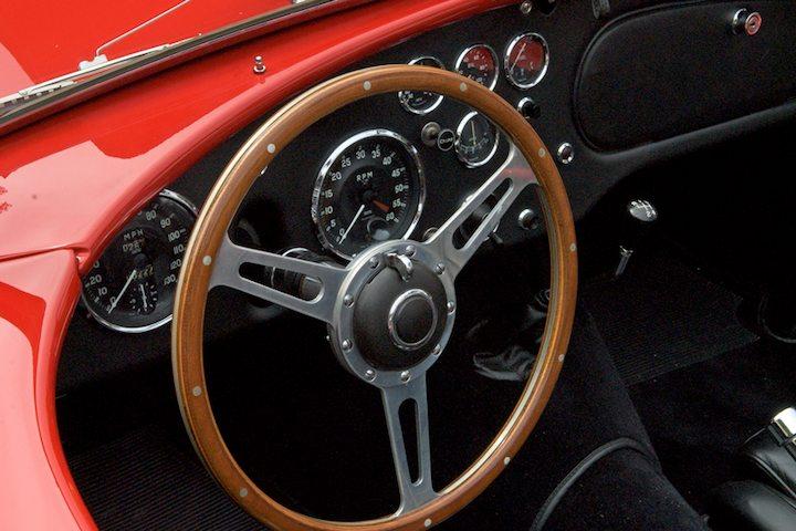 1957 AC Ace Bristol Dash