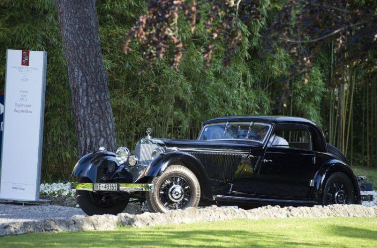 1934 Mercedes-Benz 380 K W22, Berthold Albrecht