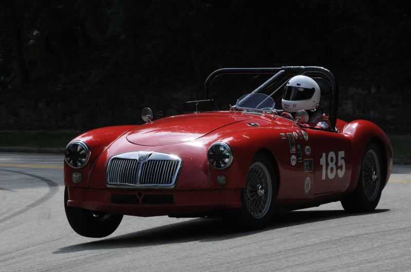 1957 MGA Mark Palmer.