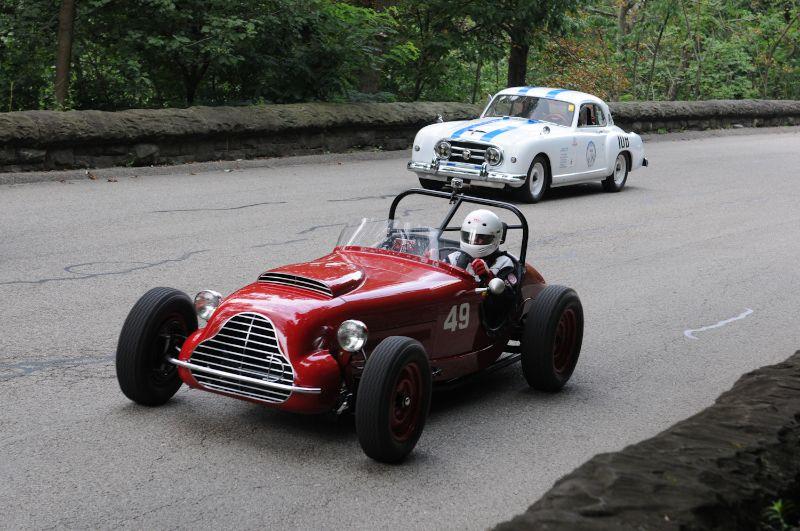 1954 Davis Special Roadster- Garrett Van Camp. Leonard McCue 1953 Nash Healey Le Mans.
