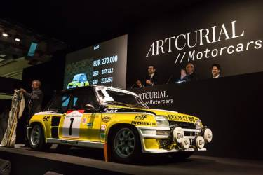 1982 Renault 5 Turbo sold for €321,800
