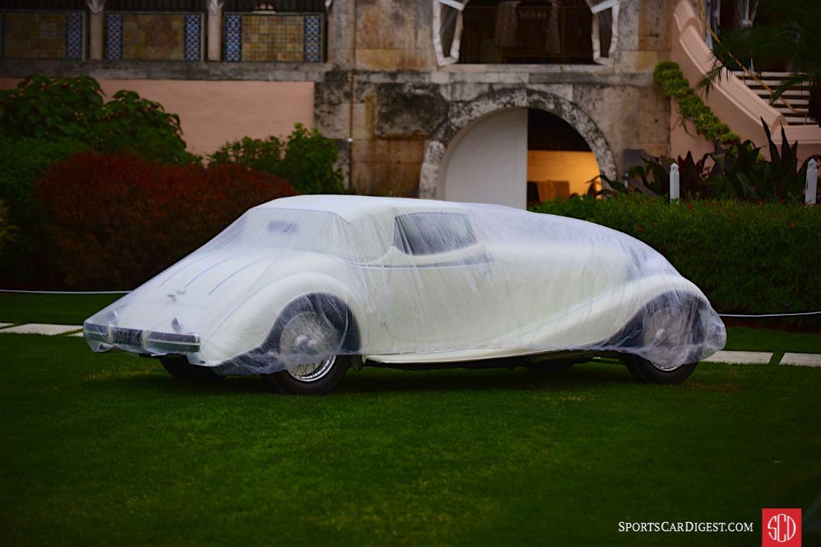 1933 Delage D8S Roadster by De Villars